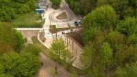 Kończą się prace przy zabudowie terenu rekreacyjnego na Leśnej Górze w Brętowie