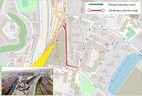 Zmiana organizacji ruchu na ul. Okopowej przy Urzędzie Marszałkowskim